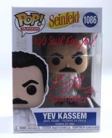"Larry Thomas Signed ""Seinfeld"" #1086 Yev Kassem Funko Pop! Vinyl Figure Inscribed ""No Soup For You!"" & ""Soup Nazi"" (PSA COA) at PristineAuction.com"