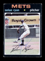 Nolan Ryan Signed 1971 Topps #513 (Beckett COA) at PristineAuction.com