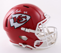 Nick Bolton Signed Chiefs Full-Size Speed Helmet (Beckett Hologram) at PristineAuction.com