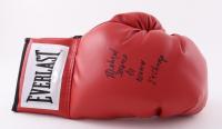"Michael Nunn Signed Everlast Boxing Glove Inscribed ""Second to Nunn"" & ""2X Champ"" (Schwartz Sports COA) at PristineAuction.com"