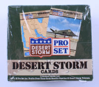 1991 Pro Set Desert Storm Trading Cards With (36) Packs (See Description) at PristineAuction.com
