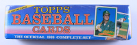 1989 Topps Official Complete Set With (792) Cards at PristineAuction.com