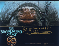 """Noah Hathaway Signed """"The Never Ending Story"""" 11x14 Photo Inscribed """"Do you have a cold?"""" (AutographCOA COA) (See Description) at PristineAuction.com"""