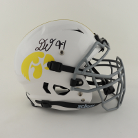 Daviyon Nixon Signed Iowa Hawkeyes Youth Full-Size Authentic On-Field Vengeance Helmet (Beckett Hologram) at PristineAuction.com