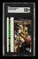 LeBron James 2003-04 UD Top Prospects #3 (SGC 10) at PristineAuction.com