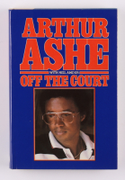 "Arthur Ashe Signed ""Off The Court"" Hardcover Book (PSA COA) (See Description) at PristineAuction.com"