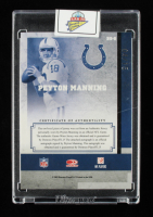 Peyton Manning 2007 Leaf Limited Banner Season Autograph Materials Prime #8 #4/15 at PristineAuction.com