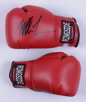 Mike Tyson Signed Ringside Boxing Glove with Phot Display Case (PSA Hologram) at PristineAuction.com