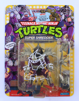 "Kevin Eastman Signed ""Teenage Mutant Ninja Turtles"" Shredder Figure with Hand Drawn Sketch (JSA COA) at PristineAuction.com"