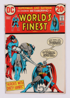 """1973 """"World's Finest"""" Issue #217 DC Comic Book (See Description) at PristineAuction.com"""