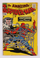 """1965 """"The Amazing Spiderman"""" Issue #25 Marvel Comic Book at PristineAuction.com"""
