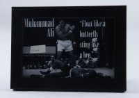 Muhammad Ali Hand-Written 5x7 Custom Framed Cut Display (JSA LOA) at PristineAuction.com