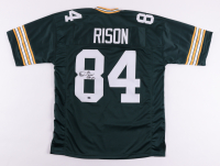 """Andre Rison Signed Jersey Inscribed """"SB XXXI Champs"""" (Schwartz Sports COA) at PristineAuction.com"""