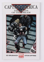 """2007 """"Captain America: The Death Of The Dream"""" Issue #25 Variant Cover 2nd Printing DC Comic Book at PristineAuction.com"""