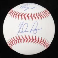 "Nolan Ryan Signed OML Baseball Inscribed ""4 Decades Played"" (PSA COA) at PristineAuction.com"