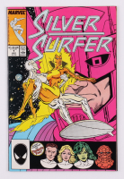 """1987 """"Silver Surfer"""" Issue #1B Variant Cover Marvel Comic Book at PristineAuction.com"""
