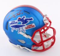 Emmanuel Sanders Signed Bills Speed Mini Helmet (Beckett Hologram) at PristineAuction.com