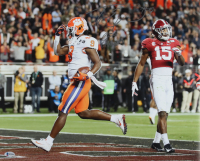 """Travis Etienne Signed Clemson Tigers 16x20 Photo Inscribed """"CFP Champs!"""" (Beckett COA) at PristineAuction.com"""