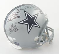 Emmitt Smith, Troy Aikman & Michael Irvin Signed Cowboys Full-Size Helmet (Prova COA, Aikman, Smith & Irvin Holograms) at PristineAuction.com