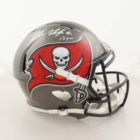 Antoine Winfield Jr. Signed Buccaneers Full-Size Super Bowl LIV Champions Logo Speed Helmet (Beckett Hologram) at PristineAuction.com