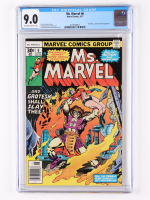 """1977 """"Ms. Marvel"""" Issue #6 Marvel Comic Book (CGC 9.0) at PristineAuction.com"""