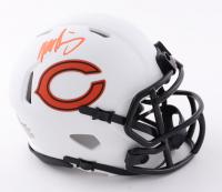 Mike Singletary Signed Bears Lunar Eclipse Alternate Speed Mini Helmet (Beckett Hologram) at PristineAuction.com