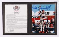 Dale Earnhardt Jr. Signed NASCAR 8x10 Photo with Commemorative Folder (JSA COA) (See Description) at PristineAuction.com