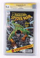 """2013 """"The Amazing Spider-Man"""" Issue #700 Marvel Comic Book Signed by (6) with Stan Lee, Dan Slott, Giuseppe Camuncoli, Humberto Ramos (CGC 9.6) at PristineAuction.com"""