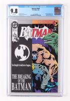 "1993 ""Batman"" Issue #497 DC Comic Book (CGC 9.8) at PristineAuction.com"