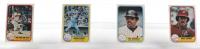 Complete Set of (637) 1981 Fleer Baseball Cards With Carl Yastrzemski #638, Geroge Brett #655, Mike Schmidt #640, Reggie Jackson #650 at PristineAuction.com