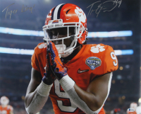 """Travis Etienne Signed Clemson Tigers 16x20 Photo Inscribed """"Tiger King!"""" (Beckett COA) at PristineAuction.com"""