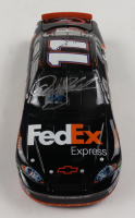 Denny Hamlin Signed LE NASCAR #11 FedEx Express 2006 Monte Carlo SS - 2006 Rookie of the year 1:24 Diecast Car (Beckett COA) at PristineAuction.com