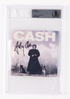 Johnny Cash Signed CD Cover (BGS Encapsulated) at PristineAuction.com