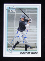 Christian Yelich Signed 2010 Bowman Draft Prospects #BDPP78 (Beckett COA) at PristineAuction.com