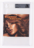 """Beyonce Knowles Signed """"Crazy in Love"""" CD Cover (BGS Encapsulated) at PristineAuction.com"""