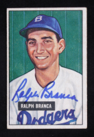 Ralph Branca Signed 1951 Bowman #56 (Beckett COA) at PristineAuction.com