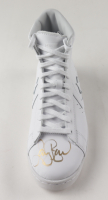Larry Bird Signed Converse All-Star Leather Basketball Shoe (PSA COA) at PristineAuction.com