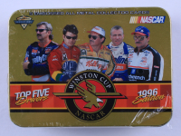 1996 Edition Top Five Drivers Winston Cup Nascar Card Tin at PristineAuction.com