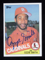 Ozzie Smith Signed 1985 Topps #605 (Beckett COA) at PristineAuction.com