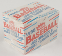 1988 Fleer Baseball Logo Stickers & Updated Trading Cards with (132) Cards at PristineAuction.com
