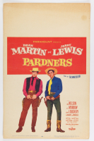 """Dean Martin and Jerry Lewis LE Original 1956 """"Pardners"""" 14x22 Poster (See Description) at PristineAuction.com"""