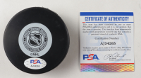 Scotty Bowman Signed Red Wings Logo Hockey Puck with Multiple Inscriptions (PSA COA) at PristineAuction.com