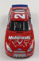 Ricky Rudd Signed NASCAR #21 Motorcraft 2005 Ford Tarus 1:24 Diecast Car (Beckett COA) at PristineAuction.com