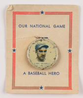 Vintage Carl Hubbell Giants Pin at PristineAuction.com
