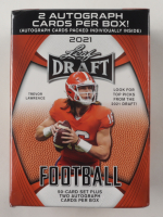 2021 Leaf Draft Football Blaster Box with (52) Cards at PristineAuction.com