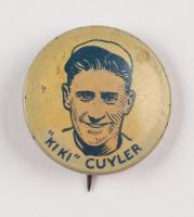 Vintage Kiki Cuyler Cubs Pin at PristineAuction.com