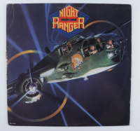 """Night Ranger """"Four in the Morning (I Can't Take Anymore)"""" Vinyl Record Album Signed by (3) with Kelly Keagy, Brad Gillis, & Jack Blades (JSA Hologram) at PristineAuction.com"""