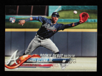 Ronald Acuna Jr. 2018 Topps Update #US252 RD at PristineAuction.com