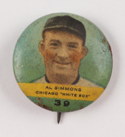 Vintage Al Simmons White Sox Pin at PristineAuction.com