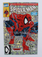 """Todd McFarlane Signed 1990 """"Spiderman"""" Issue #1 Marvel Comic Book (JSA COA) at PristineAuction.com"""